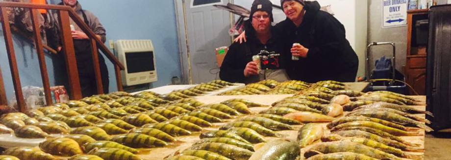 south dakota guided fishing for perch walleye bass